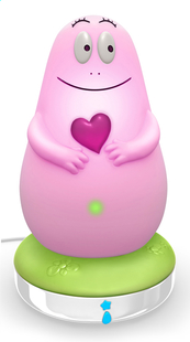 Pabobo Veilleuse Lumilove Barbapapa rose