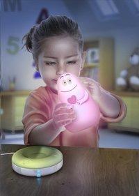 Pabobo Nachtlampje Lumilove Barbapapa roze-Afbeelding 1