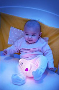 Pabobo Nachtlampje Lumilove Barbapapa roze-Afbeelding 2