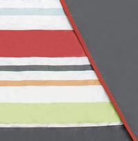 J.J. Cole Couverture de pique-nique rouge/gris-Détail de l'article
