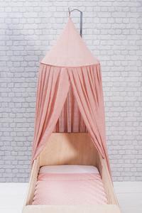 Jollein Bedhemel Vintage blush pink 245 cm-Afbeelding 2