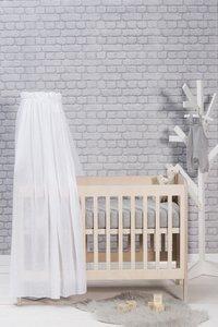 Jollein Bedhemel Vintage white 155 cm-Afbeelding 3