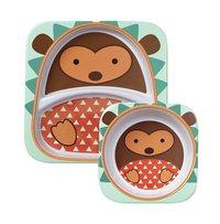 Skip*Hop Assiette à compartiments Zoo hérisson -Détail de l'article