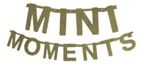 Minimou Letterslinger Mini moments goud glitter-commercieel beeld