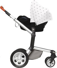 Dooky Zonnekap voor draagbare autostoel Silver Stars-Artikeldetail
