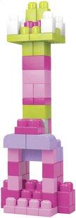 Mega Bloks Set de jeu First Builders Sac de blocs rose-Détail de l'article
