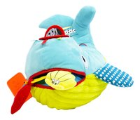 Dolce Peluche Play and Learn baleine 21 cm-Avant