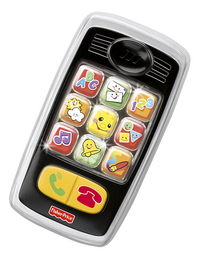 Fisher-Price Mon premier téléphone portable Laugh & Learn Smilin' Smart Phone FR