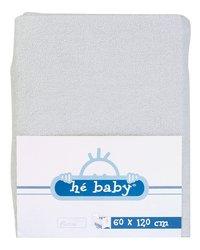 Hé Baby Hoeslaken van badstof voor bed grijs