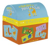 Crocodile Creek Puzzel Baby Animals First Puzzle