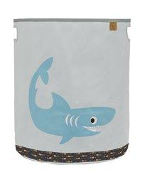 Lässig Panier de rangement requin gris clair