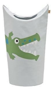 Lässig Corbeille à linge crocodile gris clair