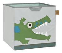 Lässig Boîte de rangement crocodile