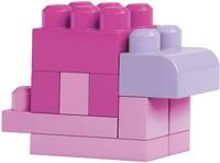 Mega Bloks Set de jeu First Builders Sac de blocs rose-Image 3