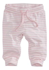 Z8 Pantalon Basil soft pink/white