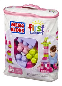 Mega Bloks Set de jeu First Builders Sac de blocs rose-Côté droit