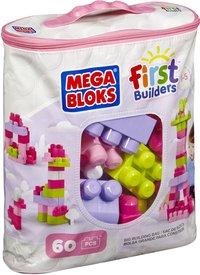Mega Bloks Set de jeu First Builders Sac de blocs rose-Côté gauche