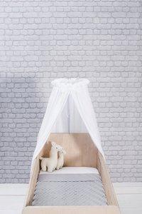 Jollein Bedhemel Vintage white 155 cm-Afbeelding 2