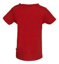 Someone T-shirt met korte mouwen Red-Achteraanzicht