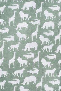 Jollein Drap tetra Safari forest green - 2 pièces-Détail de l'article