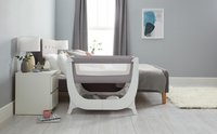 Thermobaby Co-sleeper Shnuggle Air dove grey-Afbeelding 2