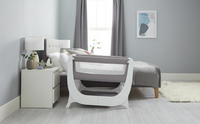 Thermobaby Co-sleeper Shnuggle Air dove grey-Afbeelding 4