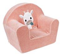 Dreambee Kinderzetel Tobi roze-Linkerzijde