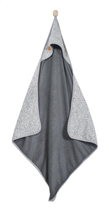 Jollein Badcape Stonewashed Knit grey