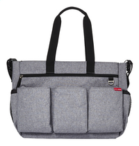 Skip*Hop Sac à langer Duo Double Signature heather grey