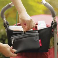 Skip*Hop Sac de rangement Grab&Go Stroller Organizer black-Image 4
