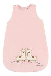 Noukie's Sac de couchage Moris & Sacha Veloudoux polyester rose 70 cm-Avant