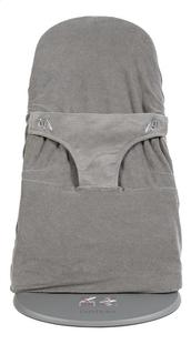 Dreambee Housse pour relax Essentials gris foncé tissu-éponge-Avant