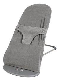 Dreambee Housse pour relax Essentials gris foncé tissu-éponge-Côté droit