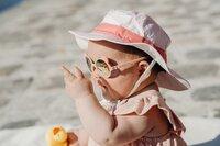 Ki ET LA Zonnebril Ours'on Peach van 1 tot 2 jaar-Afbeelding 1
