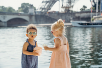 Ki ET LA Zonnebril Ours'on amandel van 1 jaar tot 2 jaar-Afbeelding 5