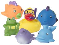 Bo Jungle 6 animaux de bain B-friends