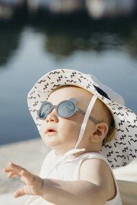 Ki ET LA Zonnebril Ours'on blauw/zilvergrijs van 1 jaar tot 2 jaar-Afbeelding 1