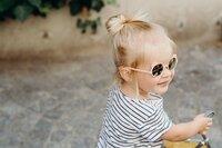 Ki ET LA Zonnebril Ours'on Peach van 1 tot 2 jaar-Afbeelding 2