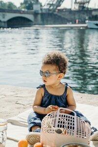 Ki ET LA Zonnebril Ours'on blauw/zilvergrijs van 1 jaar tot 2 jaar-Afbeelding 6