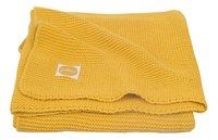 Jollein Deken voor bed Basic Knit ochre katoen-commercieel beeld