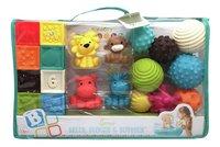 Infantino Set de jeu Sensory Balls, Blocks & Buddies - 20 pièces-Avant