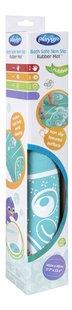 Playgro Tapis de bain antidérapant caoutchouc turquoise-Côté gauche