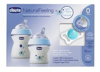 Chicco Starterset Natural Feeling blauw