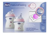 Chicco Starterset Natural Feeling roze
