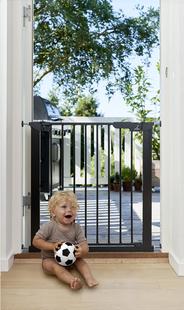 BabyDan Barrière de porte Asta noir-Image 2