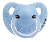 Suavinex Fopspeen 0 - 6 maanden Anatomical 18 Blue Weave-Vooraanzicht