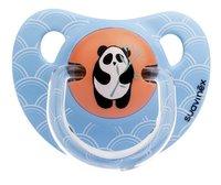 Suavinex Fopspeen 6 - 18 maanden Anatomical 18 Orange Bamboo Panda-Vooraanzicht