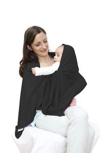 Lässig Châle/écharpe d'allaitement noir-Détail de l'article