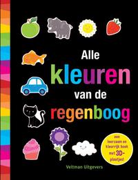 Livre pour bébé Alle kleuren van de regenboog