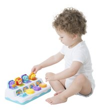 Playgro Activiteitenspeeltje Jerry's Class Music and Lights Pop Up Jungle Pals-Afbeelding 1